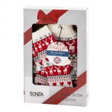 SENZA Geschenkset Weihnachtsauftritt Krug und Socken Box