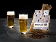 Bier-Paket Mach dein eigenes Bier Jutetasche