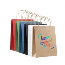 Kraft Tasche | DIN A5 | Kordelgriff | Schnell