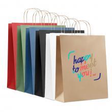 Kraft Tasche | DIN A3 | Kordelgriff| Schnell | max104