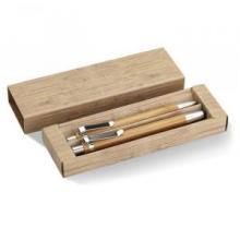 Kugelschreiber + Bleistift | Bambus | 8798111 Holz
