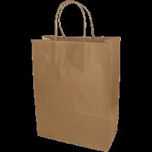 Papiertasche | DIN A4 | Kordelgriff | Eco | Maxp017 Braun