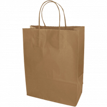 Papiertasche | DIN A5 | Kordelgriff | Eco | 108KR2218 Braun