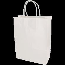 Papiertasche | DIN A5 | Kordelgriff | Eco | 108KR2218 Weiß