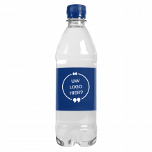 Wasserflaschen | 500 ml | mit Kohlensäure | 435000pd Blau