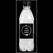 Wasserflaschen | 500 ml | mit Kohlensäure | 435000pd Schwarz
