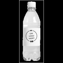 Wasserflaschen | 500 ml | mit Kohlensäure | 435000pd Weiß