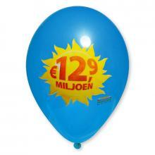 Luftballon | 30 cm | Full Colour | 14a100FC Mittel Blau