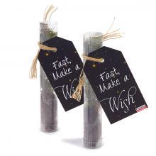 Weihnachtsbaum im Plastikrohr   Let it Grow!   Personalisiertes Etikett