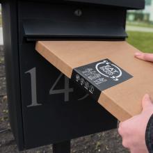 BBQ Mailbox-Pakete Schürze | BBQfoodbox001