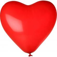 Herz-Luftballon| Ø 28 cm | Einseitig bedruckt | 14H80 Rot