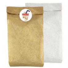 Braune Tasche | Ohne Griffe | 37 x 8 x 18 cm | Vollfarbaufkleber | max1084