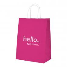 Papiertasche   DIN A5   Farbig   max0085 Pink