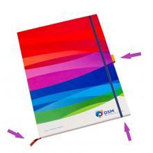 Softcover Notiz | A6 | 50 - 100  Blatt