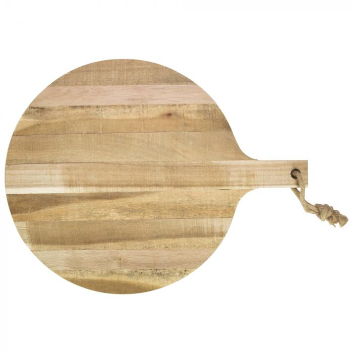 Acacia Servierbrett   Runde   39 x 52 x 2 cm   77114008 Holz
