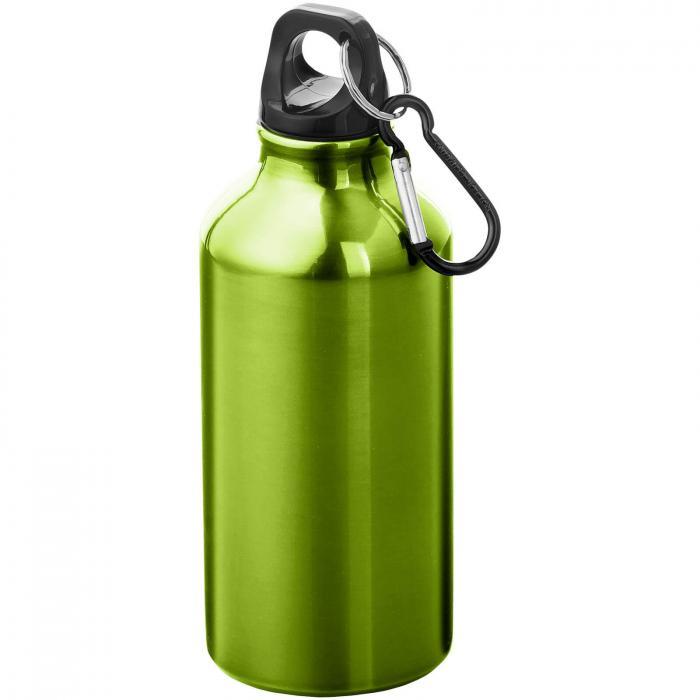Trinkflasche mit Karabiner   0,35 l   92100002 Apfelgrün