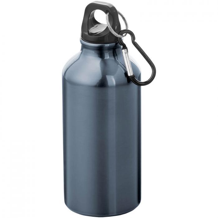 Trinkflasche mit Karabiner   0,35 l   92100002 Navy
