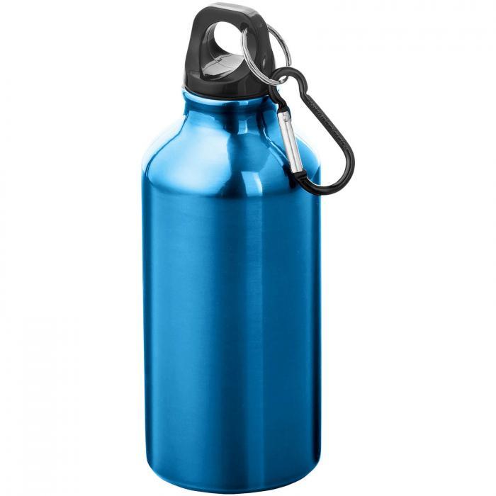 Trinkflasche mit Karabiner   0,35 l   92100002 Blau