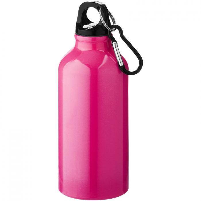 Trinkflasche mit Karabiner   0,35 l   92100002 Pink