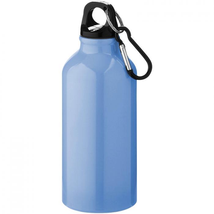 Trinkflasche mit Karabiner   0,35 l   92100002 Hellblau