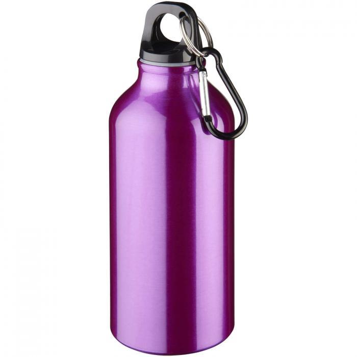 Trinkflasche mit Karabiner   0,35 l   92100002 lila