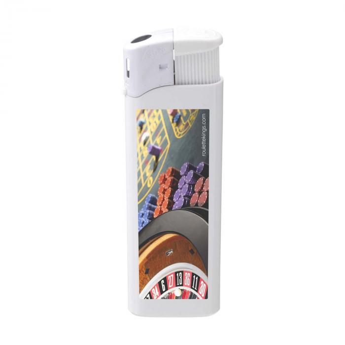 Feuerzeug   Elektronisch   Vollfarbe   72420620FCVCM Weiß