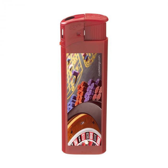 Feuerzeug   Elektronisch   Vollfarbe   72420620FCVCM Rot