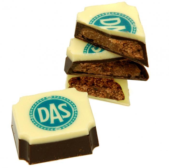 Schokolade mit Vollfarb-Logo | 612007 Mix