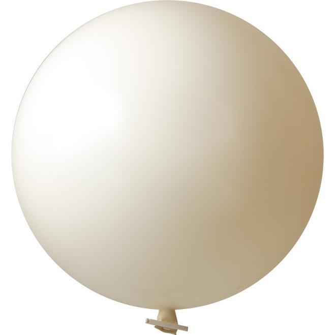 Riesenluftballon | 55 cm | Eyecatcher | 945501 Weiß