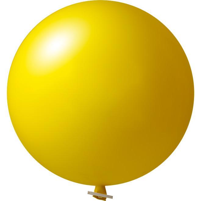 Riesenluftballon | 55 cm | Eyecatcher | 945501 Gelb