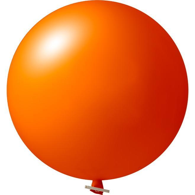 Riesenluftballon | 55 cm | Eyecatcher | 945501 Orange