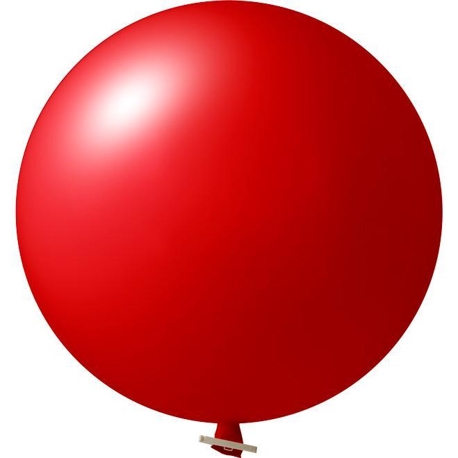 Riesenluftballon | 55 cm | Eyecatcher | 945501 Rot