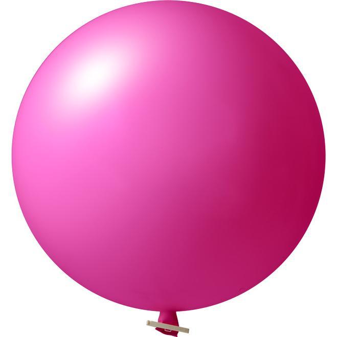 Riesenluftballon | 55 cm | Eyecatcher | 945501 Magenta