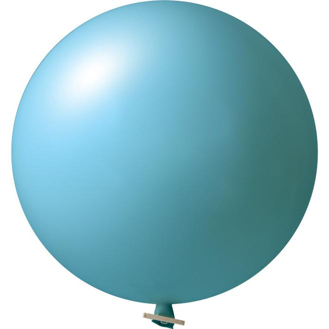 Riesenluftballon | 55 cm | Eyecatcher | 945501 Hellblau