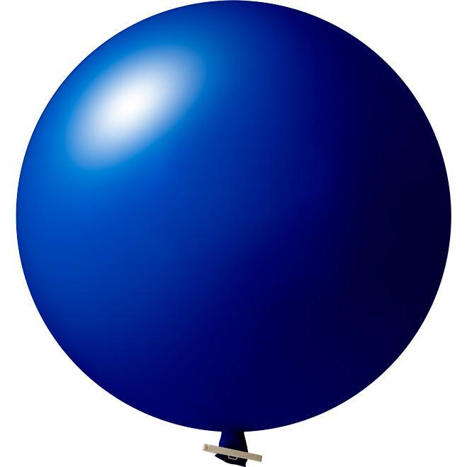 Riesenluftballon | 55 cm | Eyecatcher | 945501 Dunkel Blau