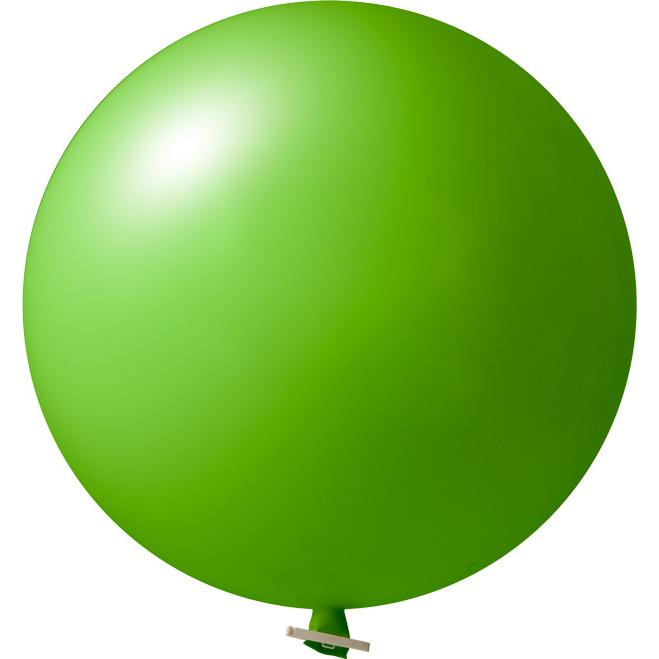 Riesenluftballon | 55 cm | Eyecatcher | 945501 Hellgrün