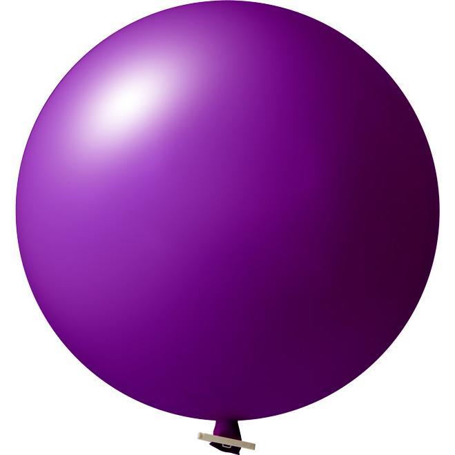 Riesenluftballon | 55 cm | Eyecatcher | 945501 Violett
