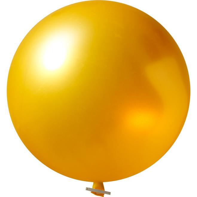 Riesenluftballon | 55 cm | Eyecatcher | 945501 Gold