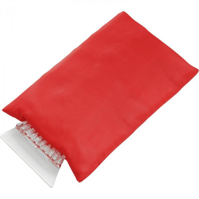 Eiskratzer bedrucken   mit Handschuh   ab 25 Stück   8035817S Rot