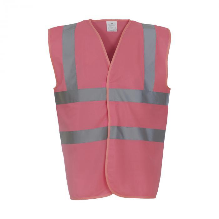 Warnweste | EN471 | M,L,XL,XXL | 3743377 Pink