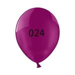 Luftballon | Transparent| 30 cm | Full Colour | 14a100chrfc burgunder