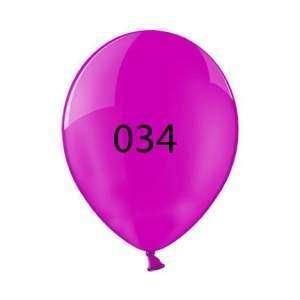 Luftballon | Transparent| 30 cm | Full Colour | 14a100chrfc Fuchsia