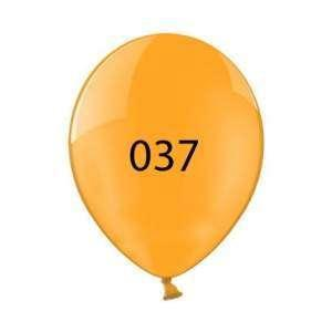 Luftballon | Transparent| 30 cm | Full Colour | 14a100chrfc Orange