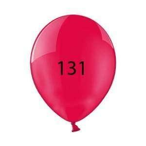 Luftballon | Transparent| 30 cm | Full Colour | 14a100chrfc Rot
