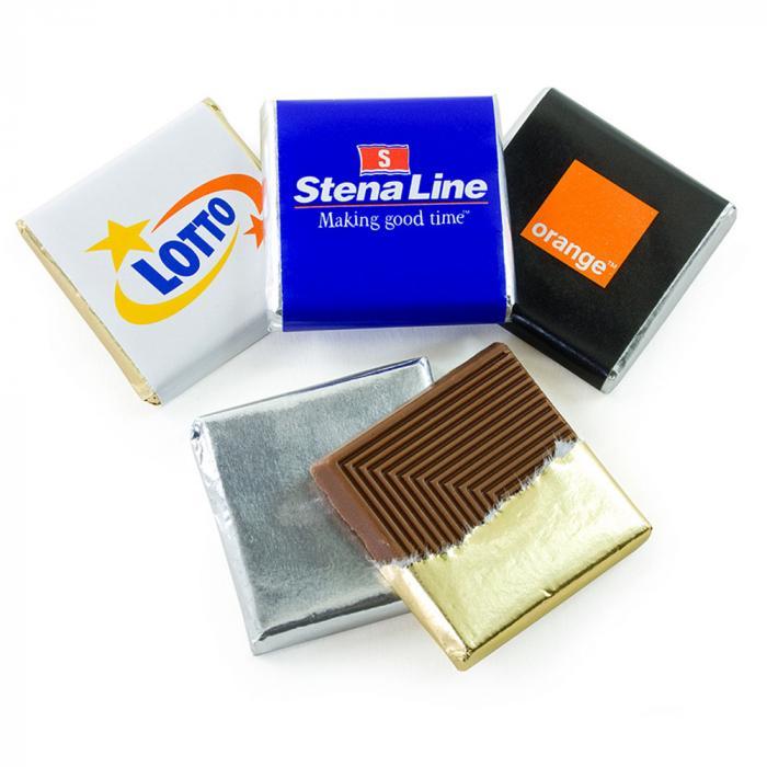 Belgische Schokolade   Quadrat   650202