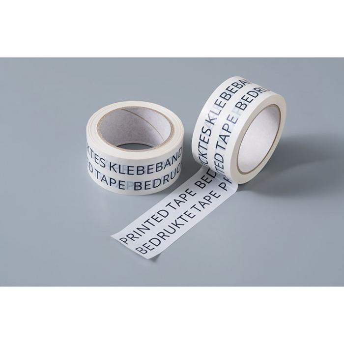 PP Klebeband | Lösungsmittelfrei | 5cm x 66m | Ab 18 Stück | 63002 Weiß
