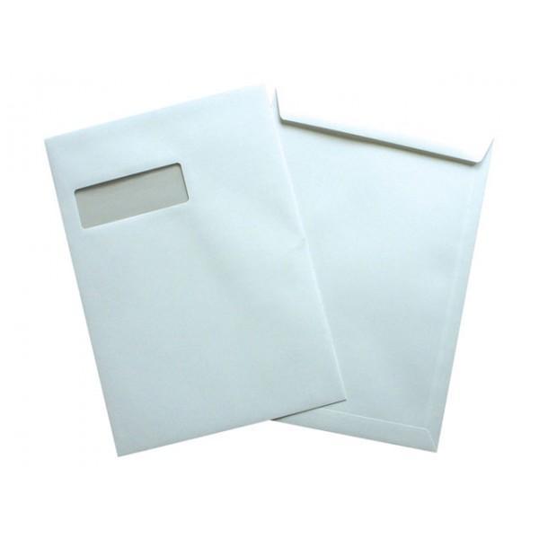 Briefumschlag EA4 | Klebestreifen | 429103 Weiß