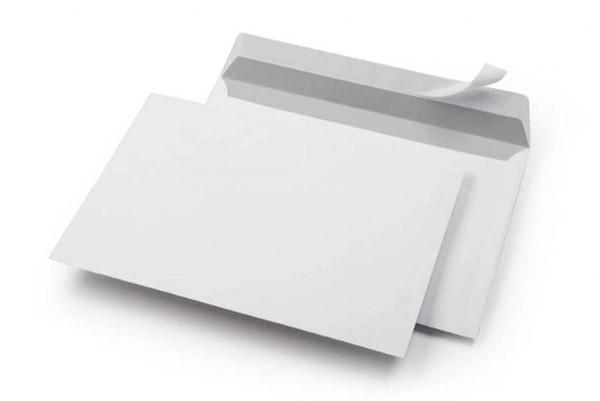 Briefumschlag C6 | Klebestreifen | 429105 Weiß