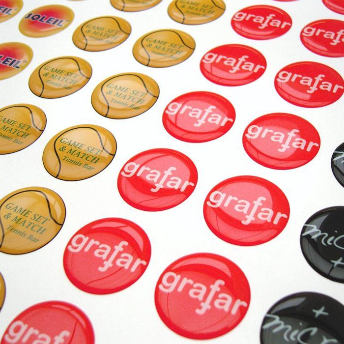 Doming Sticker | 4,5 cm2 | 690001