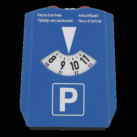 Parkscheibe mit Eiskratzer und Einkaufswagenmünzen | 72817518